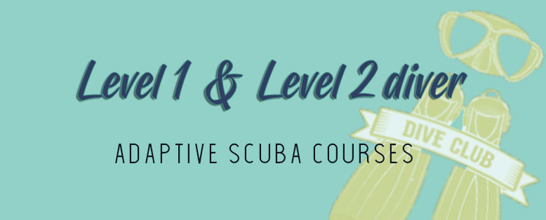 Scuba Diving courses for people with disabilities