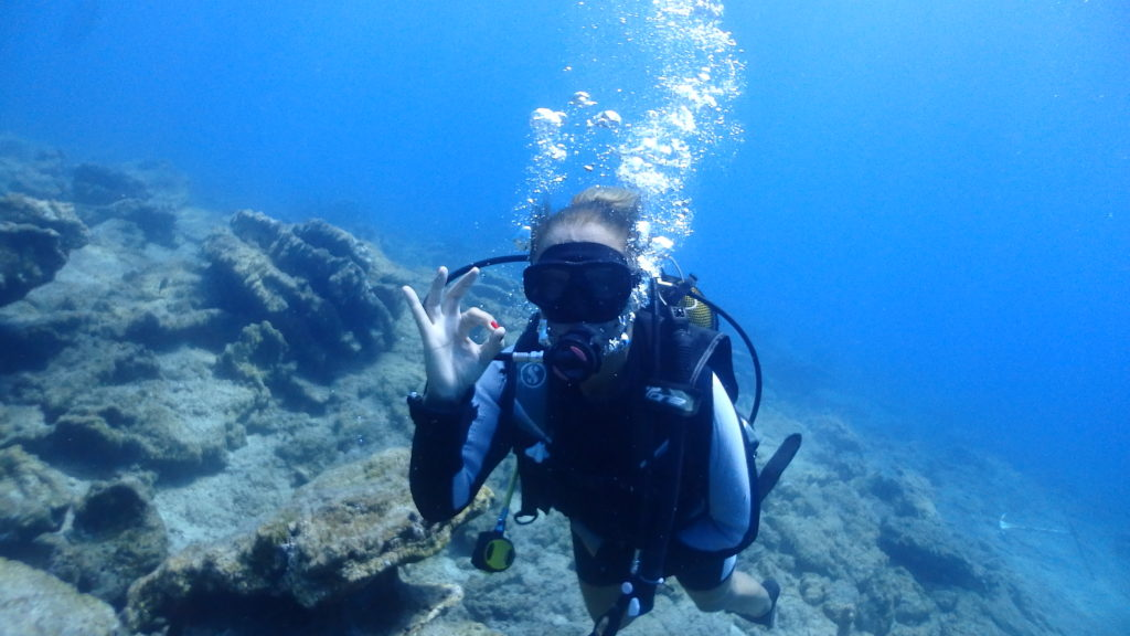 learn scuba diving with So Scuba