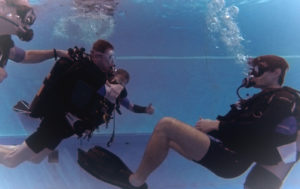 IAHD duikinstructeur - AquaSub Breda - Jostiband Onderwater Concert